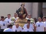 Carinaro (CE) - Festa S.Eufemia 2014, la processione (08.09.14)