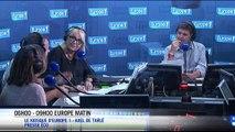 Jean-Yves Le Drian et Valérie Trierweiler dans la voix de Nicolas Canteloup... Voici le zapping matin !