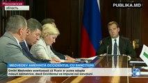 Dmitri Medvedev ameninţă Ucraina. Ar putea fi sistată alimentarea cu electricitate