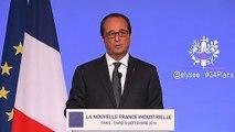 Discours du président de la République à l'occasion de la présentation des 34 Plans de la Nouvelle France Industrielle