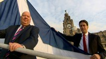 Ed Miliband calls for people to fly the Scottish flag