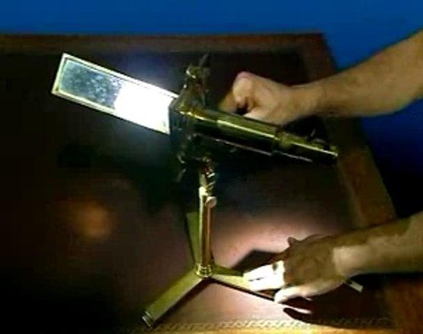 Série de microscopes : le microscope solaire