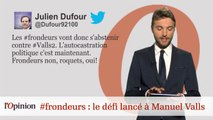 #tweetclash : #frondeurs : le défi lancé à Manuel Valls