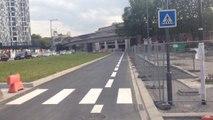 IMG_0988Le nouveau boulevard de Belfort à vélo, depuis le Grand-Palais vers la porte de Valenciennes à Lille