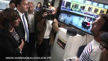 Inauguration du Welcome City Lab par Anne Hidalgo