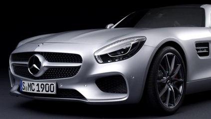 La Mercedes-AMG GT filmée en studio (sept 2014)