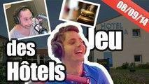 Fou rire dans le jeu des hôtels en mode marqueur sur NRJ avec Guillaume Pley