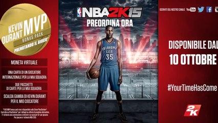 NBA2K15 Shaq & Ernie Trailer ITA