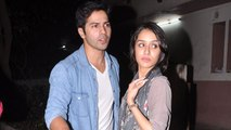 Varun Dhawan WAITING To KISS Shraddha Kapoor