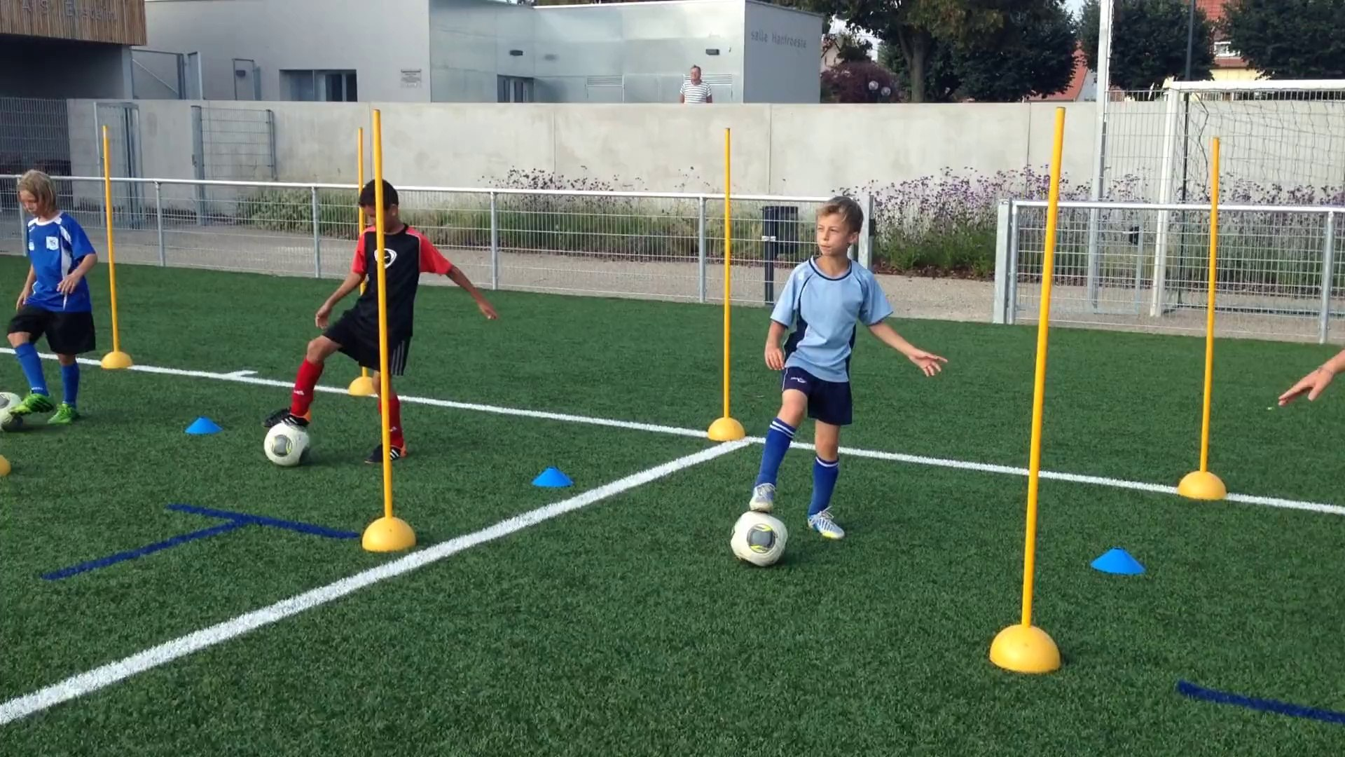 Entrainement U11 Video Dailymotion