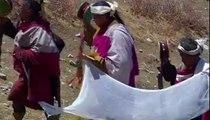 Tibet'teki Budistlerin Cenaze Töreni