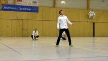 Faites du sport à Brioude : Démonstration de freestyle football par la Team switch