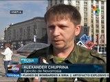 Ucrania: Donetsk y Lugansk no desisten de objetivos independentistas