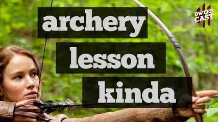 Superhero Archery Lesson (Kinda) | DweebCast | OraTV