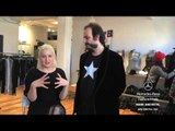"""MARK AND ESTEL"" Interview New York Fashion Week Fall Winter 2014 2015 by Fashion Channel"