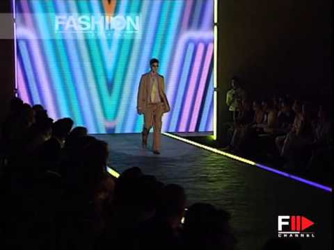 """Fashion Show """"Versace"""" Spring / Summer 2007 Menswear 1 of 2 by Fashion Channel"""