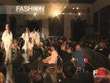 "Fashion Show ""Fausto Sarli"" Haute Couture Women Autumn Winter 2004 2005 Rome 6 of 6"
