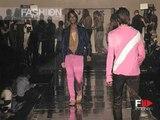 "Fashion Show ""Roberto Cavalli"" Pret a Porter Men Spring Summer 2004 Milan 2 of 3"