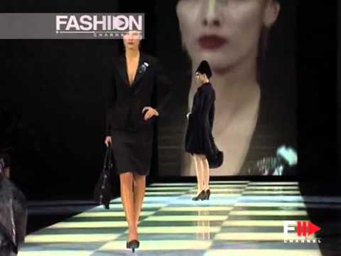 """Giorgio Armani"" Fashion Show Pret a Porter Women Autumn Winter 2005 2006 Milan 1 of 4"