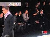 """""""Giorgio Armani"""" Autumn Winter 2000 2001 Milan 2 of 5 pret a porter men by FashionChannel"""