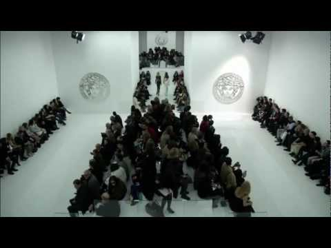 """VERSACE"" Fashion Show Autumn Winter 2013 2014 Milan Fashion Week Pret a Porter Women Full Show HD"