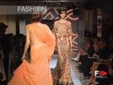 """""""Versace Atelier"""" Autumn Winter 2000 2001 Paris 4 of 4 Haute Couture woman by Fashion Channel"""