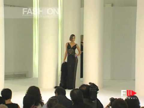 """""""Sarli Couture"""" Autumn Winter 2000 2001 Rome 5 of 7 Haute Couture woman by FashionChannel"""