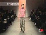 """""""Jean Paul Gaultier"""" Autumn Winter 2000 2001 Paris 3 of 4 pret a porter men by FashionChannel"""