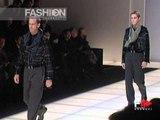 """""""Giorgio Armani"""" Autumn Winter 2000 2001 Milan 1 of 5 pret a porter men by FashionChannel"""