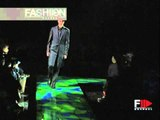 """Versace"" Autumn Winter 2000 2001 Milan 1 of 3 pret a porter men by Fashion Channel"