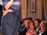 """""""Marialetizia Grisafi"""" Galà Della Sposa 2001 Haute Couture Bridalwear by FashionChannel"""