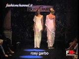 """""""Rosy Garbo"""" Spring Summer 2002 Bridalwear Paris & Rome 1 of 4 by FashionChannel"""