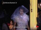 """Emanuel Ungaro"" Spring Summer 2002 Bridalwear Paris & Rome by FashionChannel"