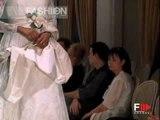"""""""Usira"""" Galà Della Sposa 2001 Haute Couture Bridalwear by FashionChannel"""
