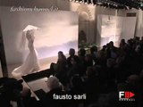 """Fausto Sarli"" Spring Summer 2007 Bridalwear Milan 2 of 2 by FashionChannel"