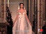 """""""Zuhair Murad"""" Spring Summer 2007 Bridalwear Milan by FashionChannel"""