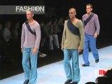 """""""Giorgio Armani   Emporio Armani"""" Spring Summer 2000 Milan 4 of 4 Men by FashionChannel"""