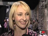 """Rebecca Taylor"" Backstage&Interview Spring Summer 2001 New York by FashionChannel"
