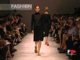 """Jil Sander"" Spring Summer 2000 Milan 1 of 3 pret a porter woman by FashionChannel"