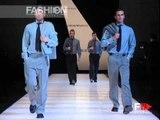 """""""Giorgio Armani - Emporio Armani"""" Autumn Winter 2003 2004 Milan 1 of 6 Men by FashionChannel.mov"""