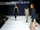 """""""Swish Jeans"""" Spring Summer 1999 Milan 2 of 5 pret a porter woman by FashionChannel"""