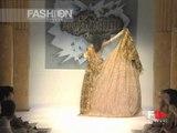 """""""Anton Giulio Grande"""" Autumn Winter 1998 1999 Rome 6 of 6 Haute Couture by FashionChannel"""