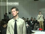 """Trussardi"" Autumn Winter 1998 1999 Milan 2 of 3 pret a porter men by FashionChannel"