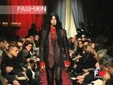 """""""Jean Paul Gaultier"""" Autumn Winter 1998 1999 Paris 6 of 6 pret a porter men by FashionChannel"""