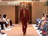 """Rocco Barocco"" Spring Summer 2003 Milan Part 2 of 3 Menswear by FashionChannel"