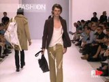 """""""Burberry"""" Spring Summer 2003 Milan Part 1 of 2 Menswear by FashionChannel"""