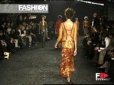 """""""Romeo Gigli"""" Spring Summer 2003 Paris 2 of 3 Pret a Porter Woman by FashionChannel"""