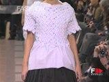 """Junya Watanabe"" Spring Summer 1998 Paris 2 of 2 pret a porter woman by FashionChannel"