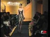 """""""Versace Atelier"""" Autumn Winter 1997 1998 Paris 1 of 4 Haute Couture woman by Fashion Channel"""