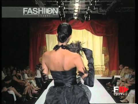 """Furstenberg Couture"" Autumn Winter 1997 1998 Rome 8 of 9 Haute Couture woman by FashionChannel"